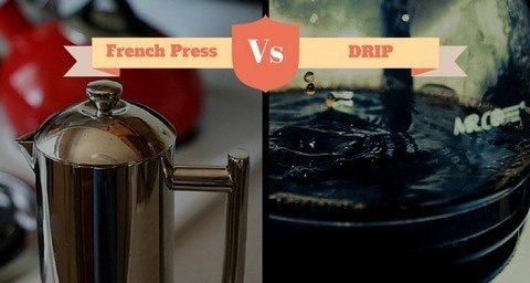 French Press vs DRIP featured  Cup French Press Coffee Maker