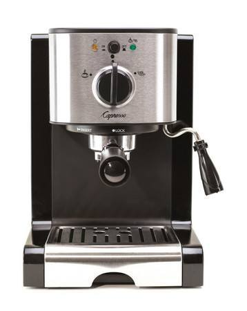 The Capresso EC100 is another great choice for an espresso machine under $200