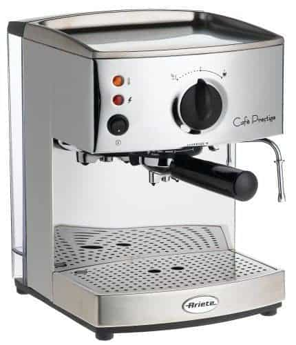 The Lello 1375 Ariete Cafe Prestige is an affordable espresso machine and a great value for the money