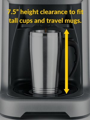 Breville coffee maker cup clearance