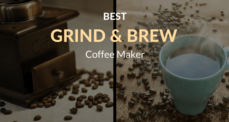coffee machine grind and brew