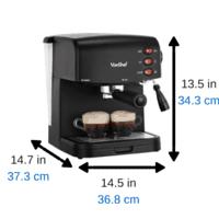 #3 - VonShef 15 Bar Pump Espresso