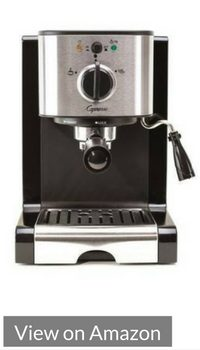 Capresso EC100, one of the top espresso machines for under $200