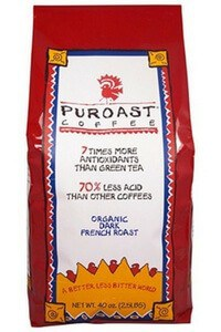 Puroast Coffee 70% less acid