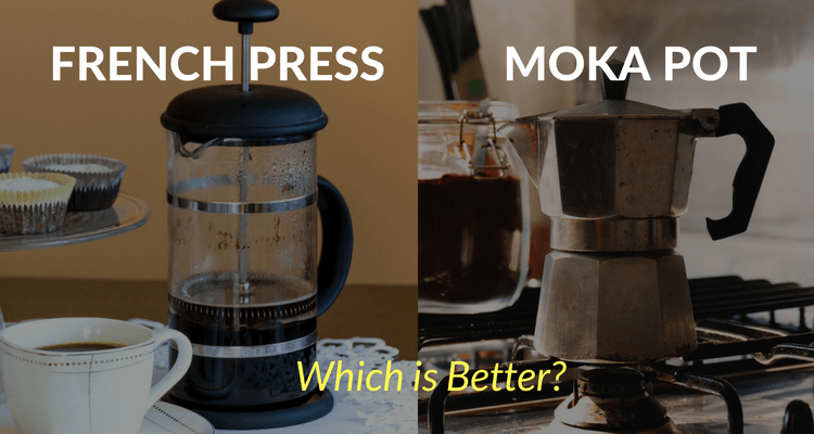 What's the difference between moka pot and french press