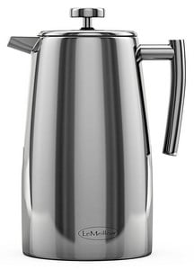 Top 10: Best French Press Stainless Steel & Glass