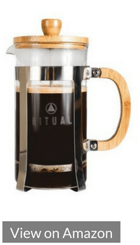 #10 - Ritual Stainless Steel and Bamboo French Press