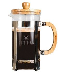 Ritual Stainless Steel and Bamboo French Press