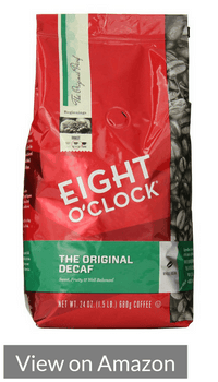 Eight O'Clock Whole Bean Coffee, The Original Decaf