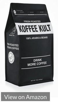 Koffee Kult Colombian Decaf Coffee Medium Roast - Whole Bean - Water Process Chemical Free