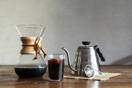 With a Chemex you can make great Iced Coffee