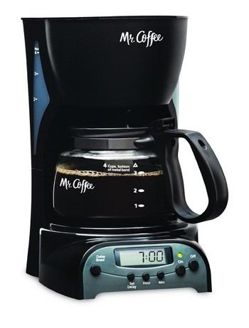 Mr. Coffee 4-Cup Programmable coffee maker, DRX5