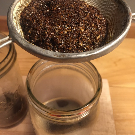 Faux French Press: Serving