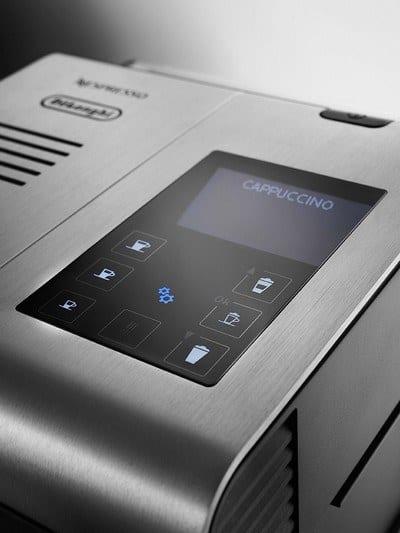 Nespresso Lattissima Pro LCD touchscreen