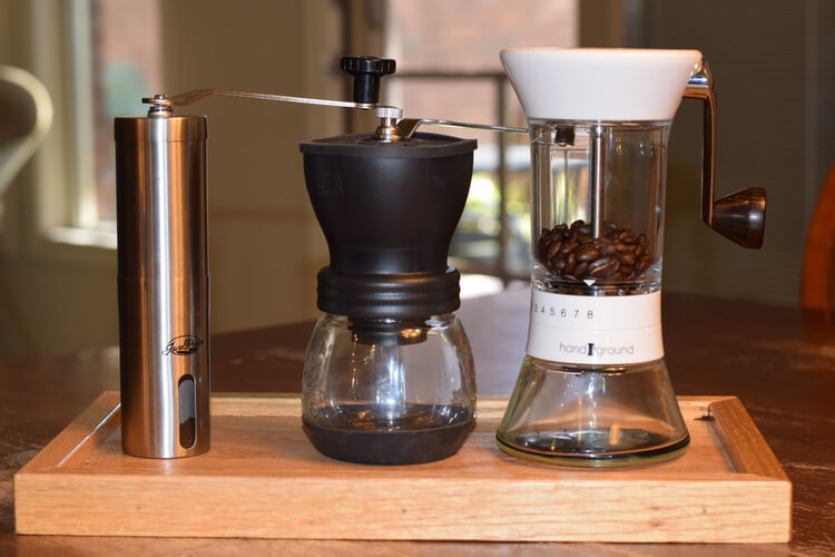 Image result for best manual coffee grinder