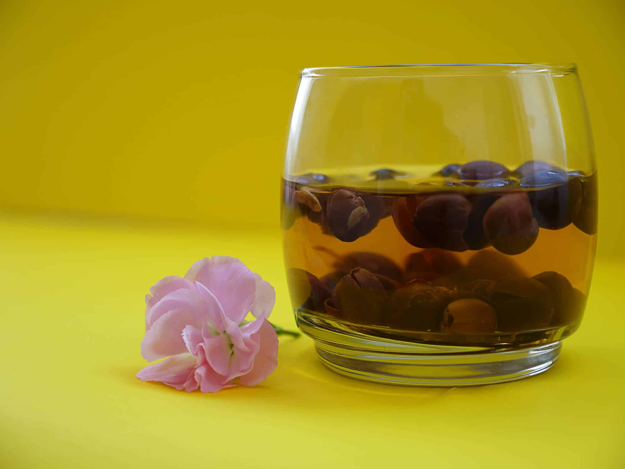 Coffee cherries tea