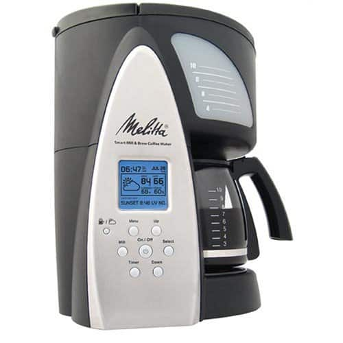 Melitta ME1MSB Smart Mill & Brew 10-Cup
