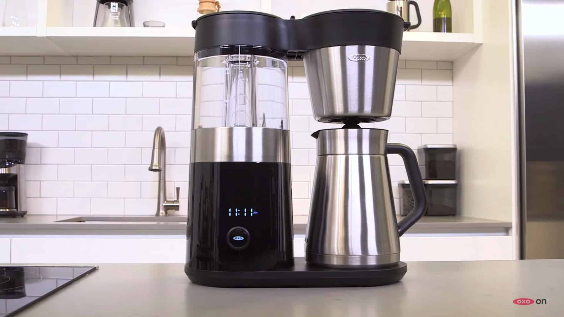 OXO On Barista Brain 9 Cup Coffee Maker Details