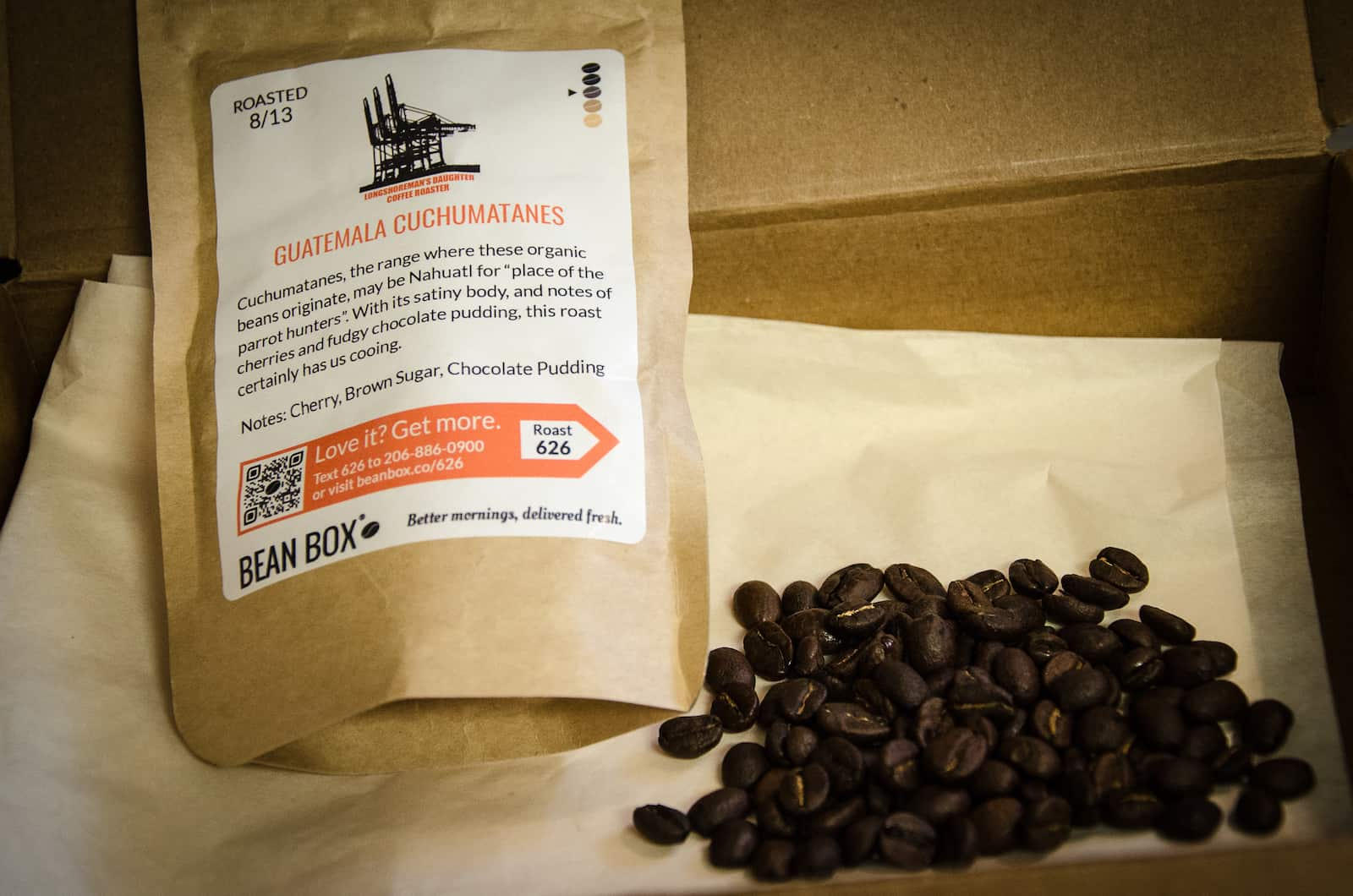 Tasting Bean Box Coffee