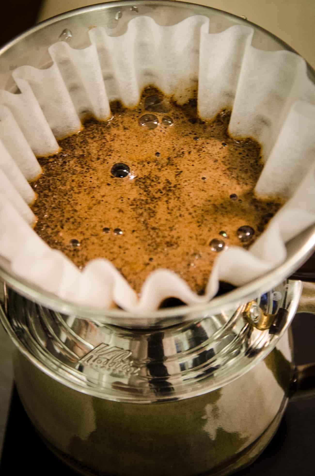 Brewing Bean Box Coffee