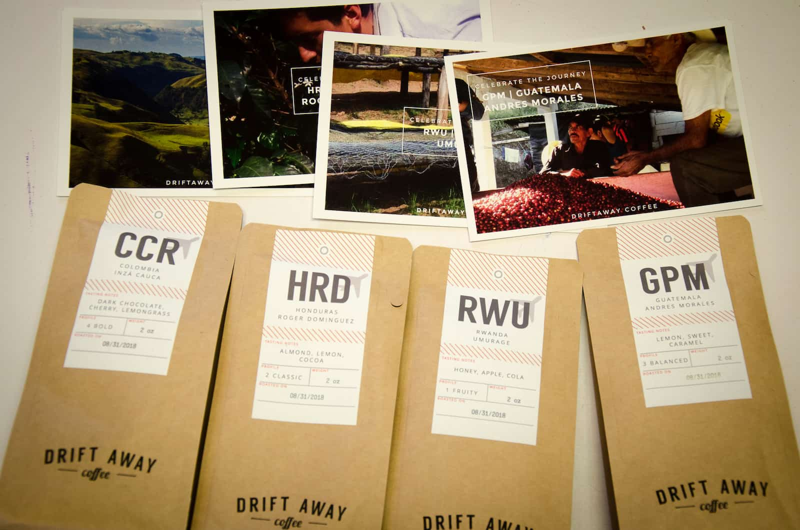 Driftaway coffee bags