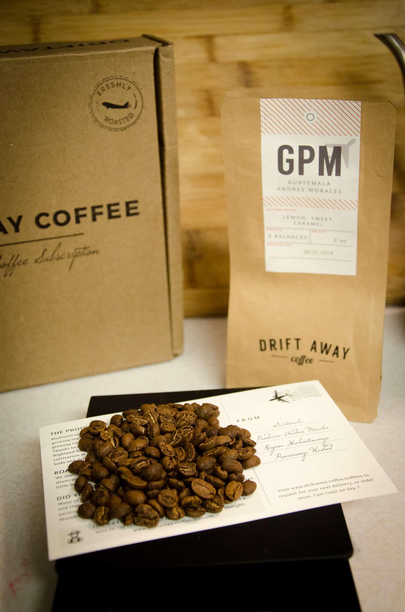 Driftaway coffee beans
