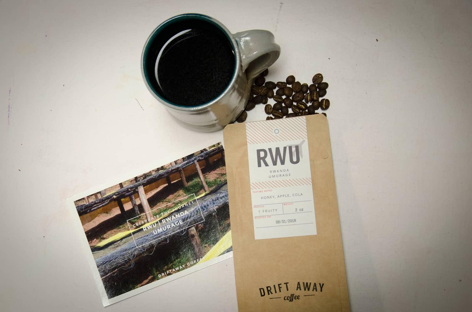 Driftaway coffee rwanda