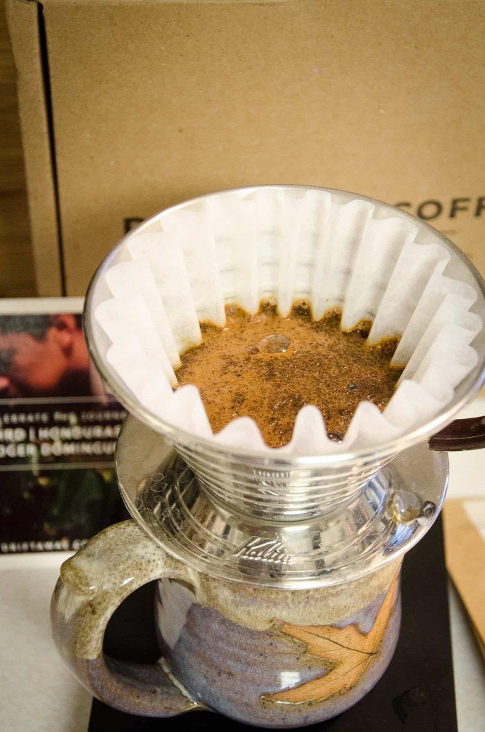 tasting driftaway coffee