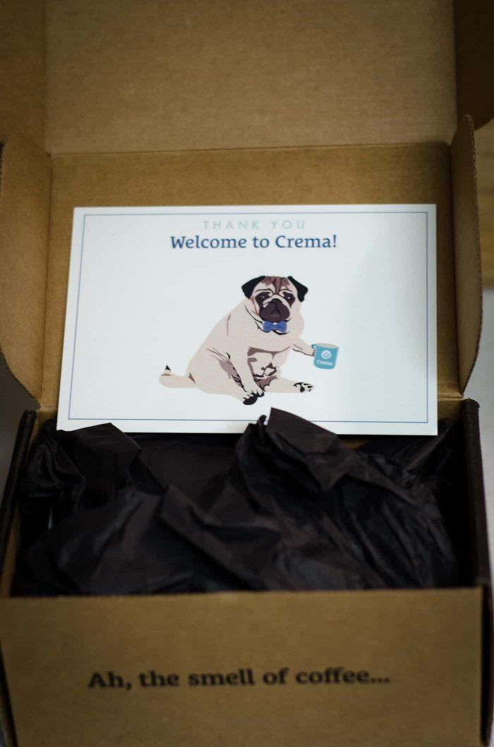 Unboxing Crema.co