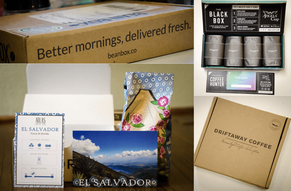 best coffee subscription boxes - aka coffee of the month club