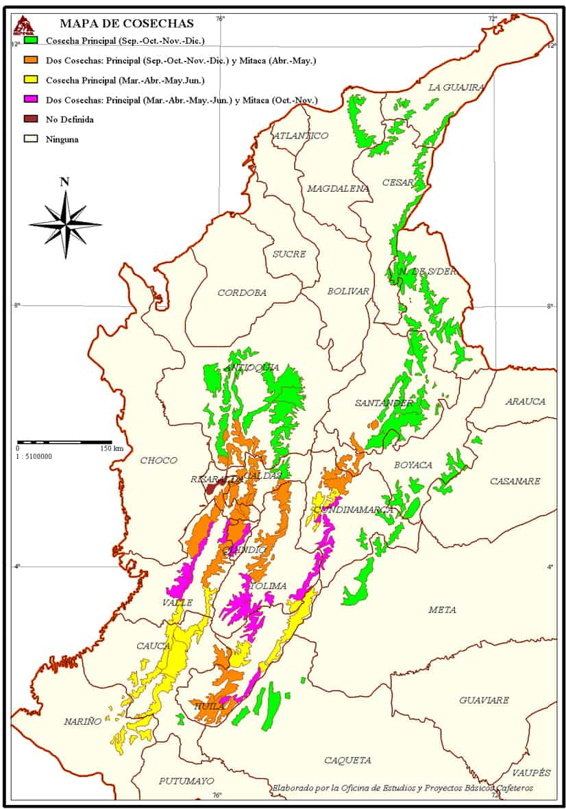 Colombian coffee regions