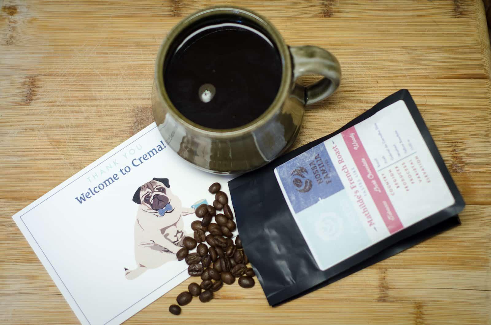 crema coffee tasting