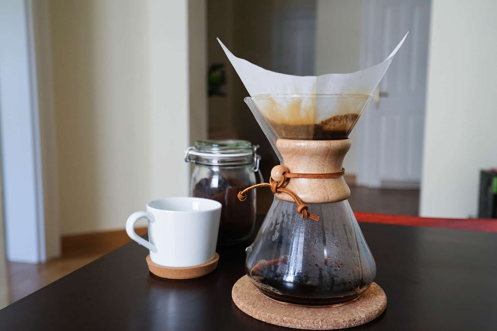 coffee in a chemex