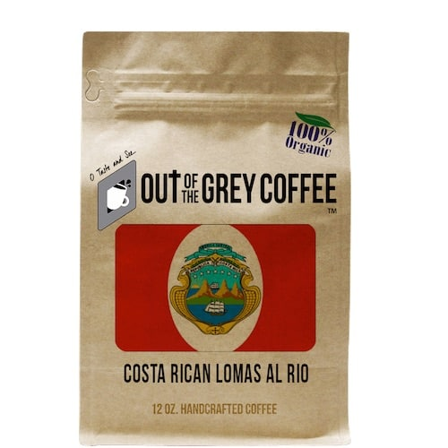 COSTA RICAN LOMAS AL RIO HONEY SHB - ORGANIC COFFEE