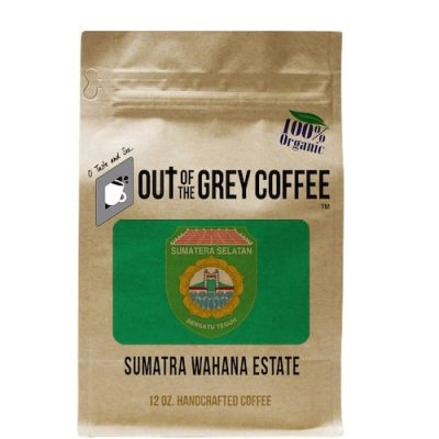SINGLE ORIGIN - SUMATRA WAHANA ESTATE - ORGANIC COFFEE