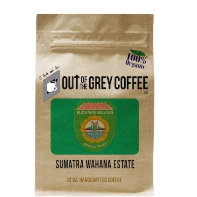 SINGLE ORIGIN - SUMATRA WAHANA ESTATE - ORGANIC COFFEE