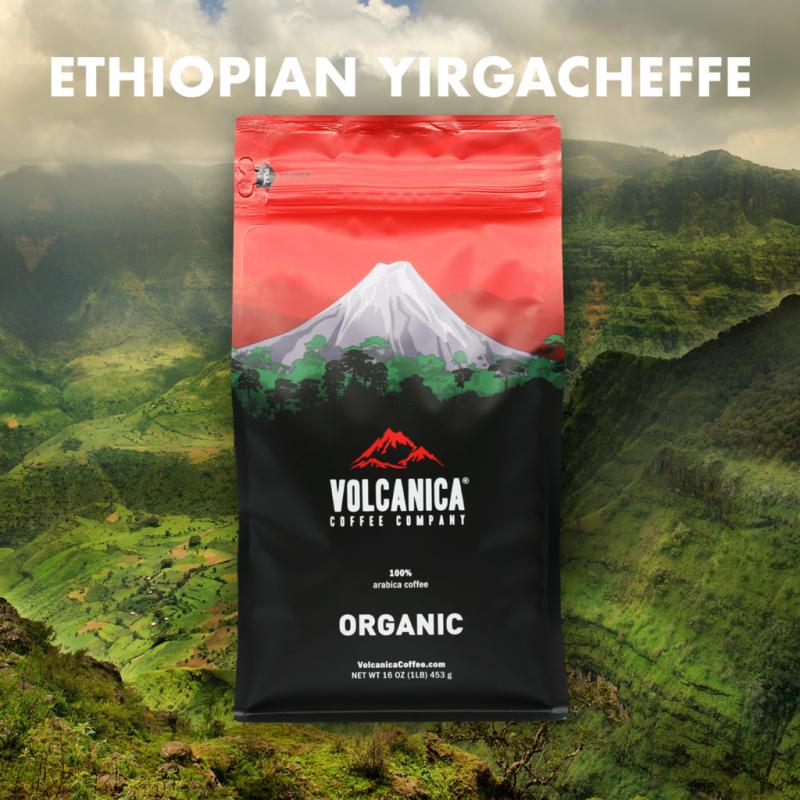 Ethiopian Yirgacheffe Coffee Beans
