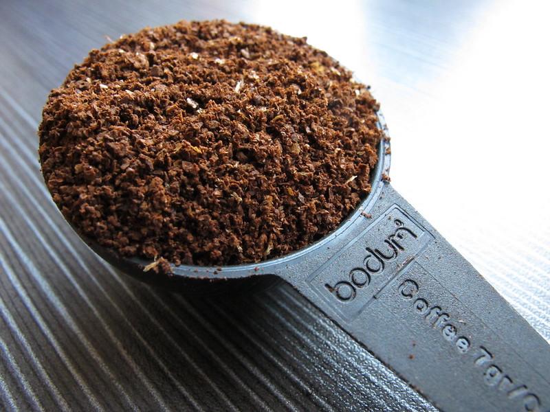 bodum coffee grounds