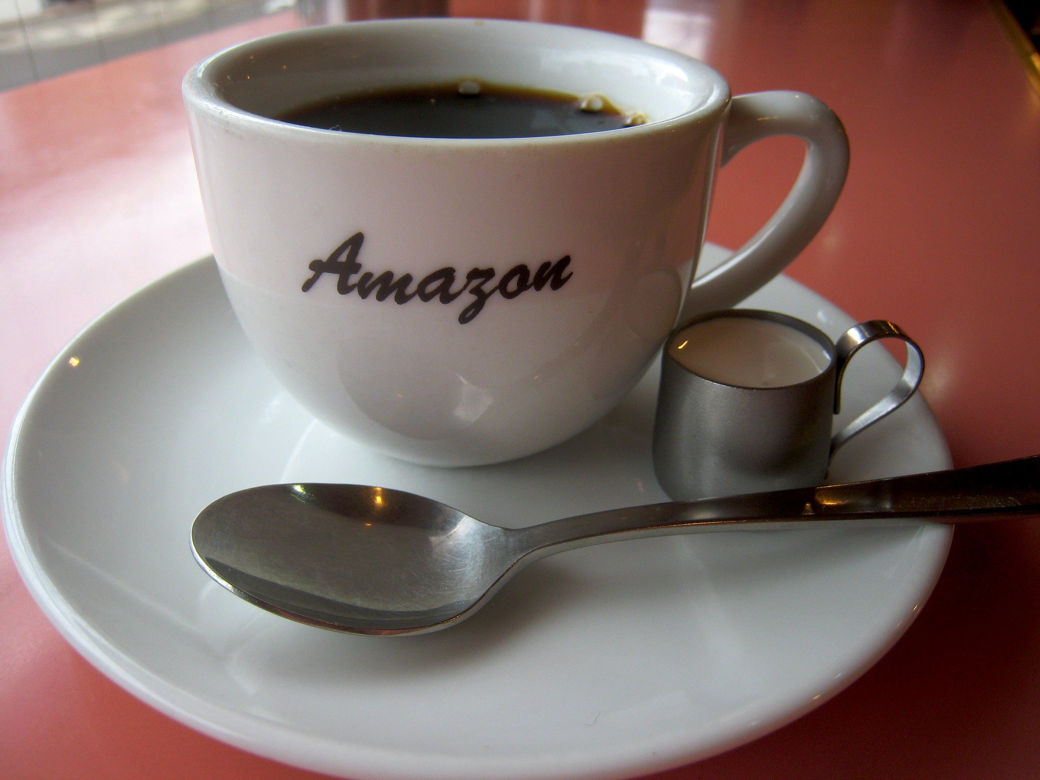 coffee in amazon cup