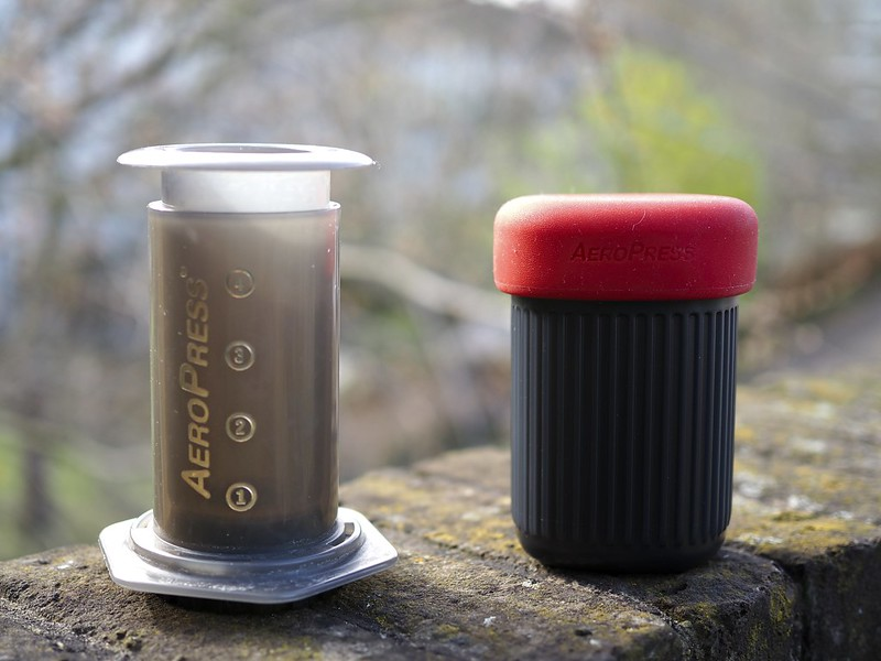 aeropress go outside