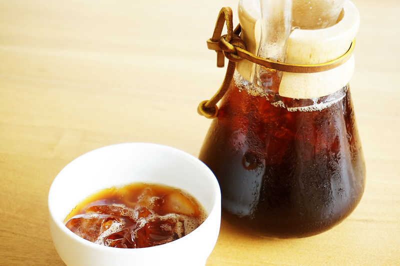 cold brew coffee and maker