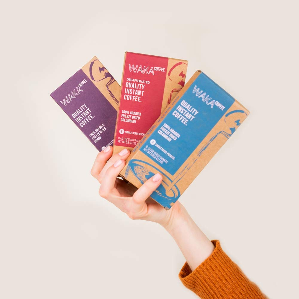 waka instant coffee blends