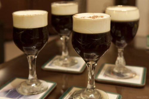 irish coffee drinks